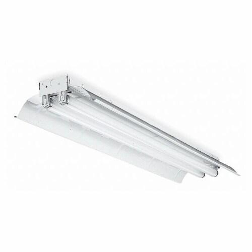 Lithonia Lighting StdFluorFixt,LowBay,96 L,12 W,4 H,59W  L 2 96 T8 MVOLT GEB10IS Perspective: front