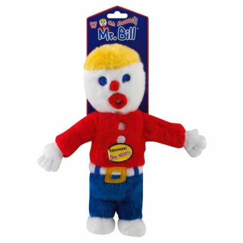 Multipet Mr. Bill Dog Toy Perspective: front