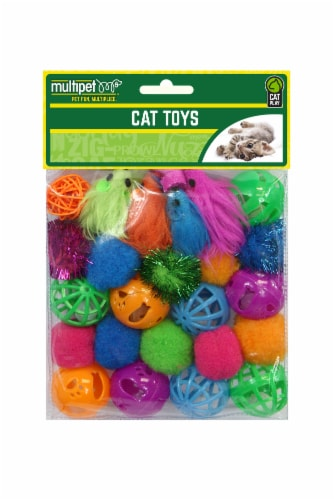 Multipet Cat Toy Value Pack - Assorted Perspective: front