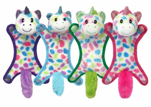 Multipet Unicorn Dog Toy - Assorted Perspective: front