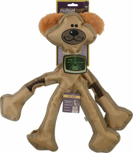 "Multipet Skele-Ropes 15"" Dog Toy Perspective: front"