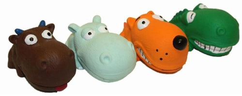 Multipet Mini Latex Dog Toy - Assorted Perspective: front