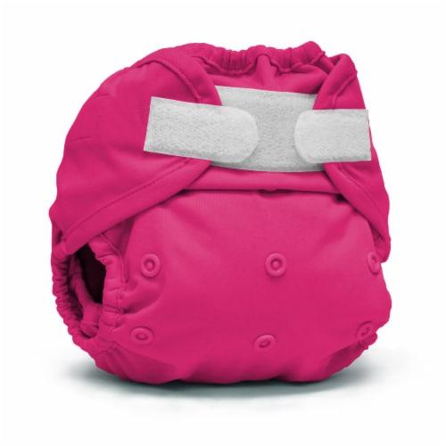 Kanga Care Rumparooz One Size Reusable Cloth Diaper Cover Aplix Sherbert 6-35 lbs Perspective: front
