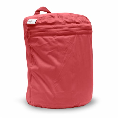 Kanga Care 3D Dimensional Seam Sealed Wet Bag - Spice Perspective: front