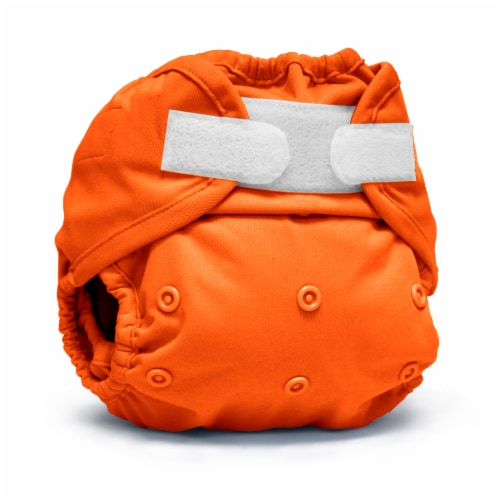 Kanga Care Rumparooz One Size Reusable Cloth Diaper Cover Aplix   Poppy Perspective: front