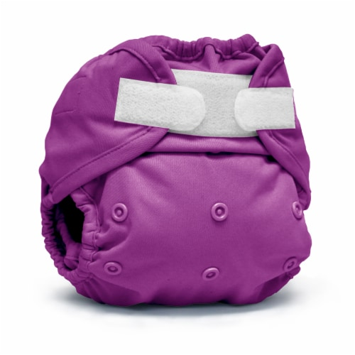 Kanga Care Rumparooz One Size Reusable Cloth Diaper Cover Aplix Orchid 6-35 lbs Perspective: front