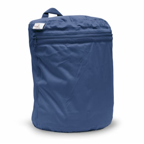 Kanga Care 3D Dimensional Seam Sealed Wet Bag - Nautical Perspective: front