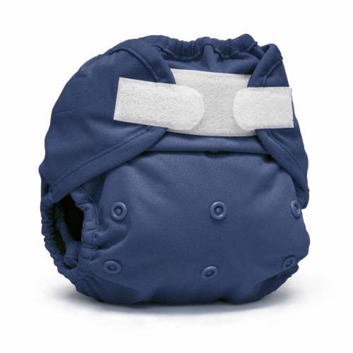Kanga Care Rumparooz One Size Reusable Cloth Diaper Cover Aplix Nautical 6-35 lbs Perspective: front