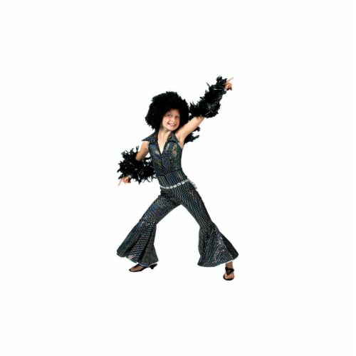 Costumes For All Occasions FF741888 Boogie Girl Child Medium Perspective: front