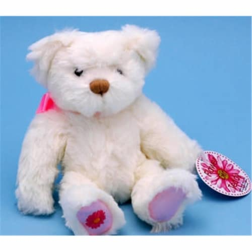 Ivy Lane Design Flower Girl Teddy Bear Perspective: front