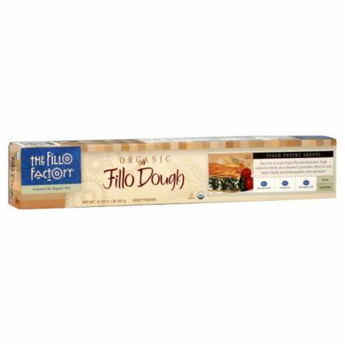 The Fillo Factory Organic Fillo Dough Perspective: front