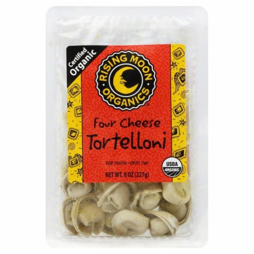 Rising Moon Organics Four Cheese Tortelloni Perspective: front