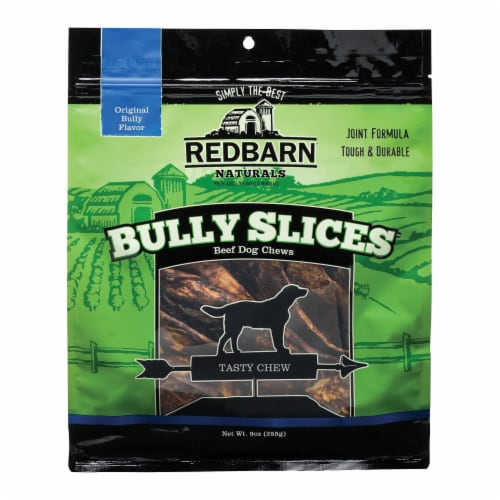 Red Barn Bully Slices Beef Dog Chews Perspective: front