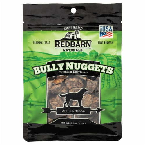 Redbarn Bully Nuggets Dog Treats Perspective: front
