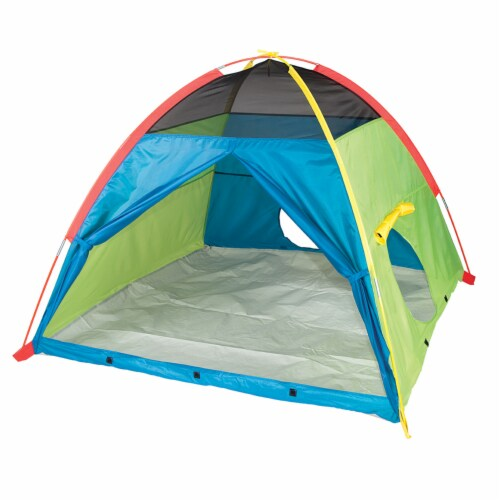 Pacific Play Tents Super Duper Dome Tent Perspective: front