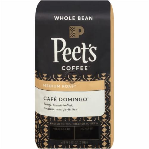 Peet's Coffee Cafe Domingo Medium Roast Whole Bean Coffee Perspective: front