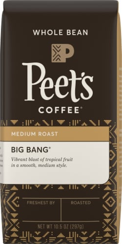 Peet's Coffee Big Bang Medium Roast Whole Bean Coffee Perspective: front
