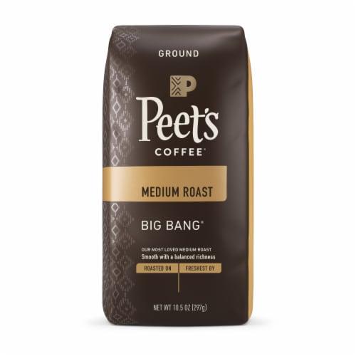Peet's Coffee Big Bang Medium Roast Ground Coffee Perspective: front