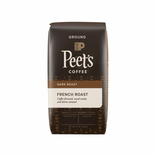 Peet's Coffee French Roast Ground Coffee Perspective: front