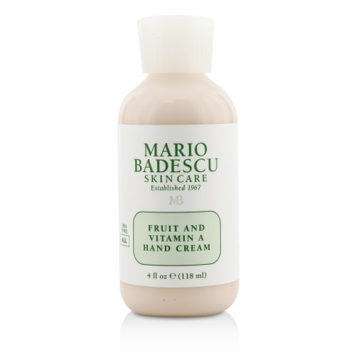 Mario Badescu Fruit And Vitamin A Hand Cream  For All Skin Types 118ml/4oz Perspective: front