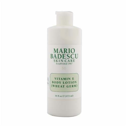Mario Badescu Vitamin E Body Lotion (Wheat Germ)  For All Skin Types 472ml/16oz Perspective: front
