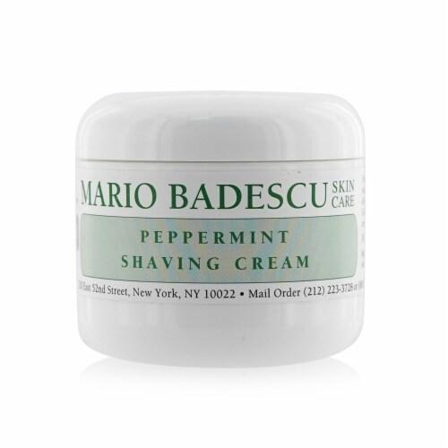 Mario Badescu Peppermint Shaving Cream 118ml/4oz Perspective: front
