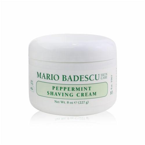 Mario Badescu Peppermint Shaving Cream 236ml/8oz Perspective: front