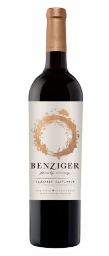 Benziger Cabernet Sauvignon Red Wine Perspective: front