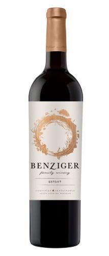 Benziger Merlot Red Wine Perspective: front