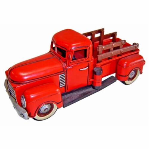 Cheungs JA-0048 1950s Red Truck - 5.75 x 12.75 x 5.5 in. Perspective: front