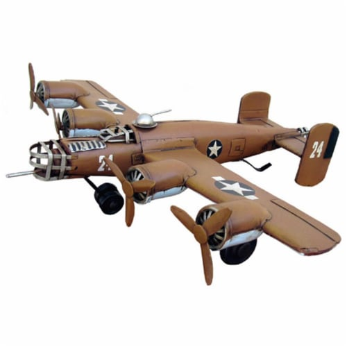 Cheungs JA-0058 1941 B-24 Plane - 3 x 13 x 19 in. Perspective: front