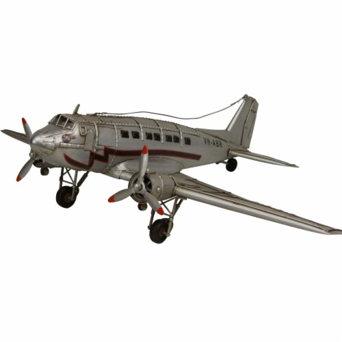 Cheungs JA-0265 2.5 lbs Silver Plane Perspective: front