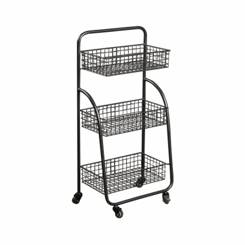 Cheungs 5050 3 Tier Metal Cart Perspective: front