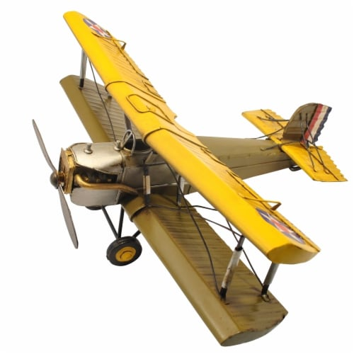 Cheungs JA-0266 Yellow Brown Plane Perspective: front