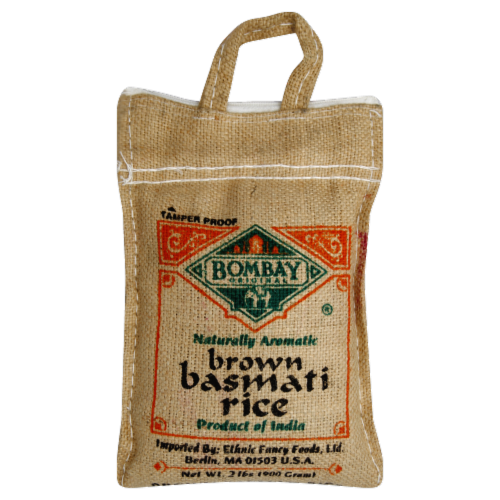 Bombay Original Brown Basmati Rice Perspective: front