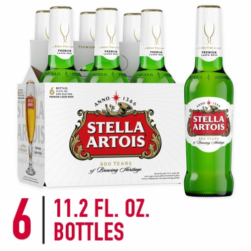Stella Artois Belgium Lager Perspective: front