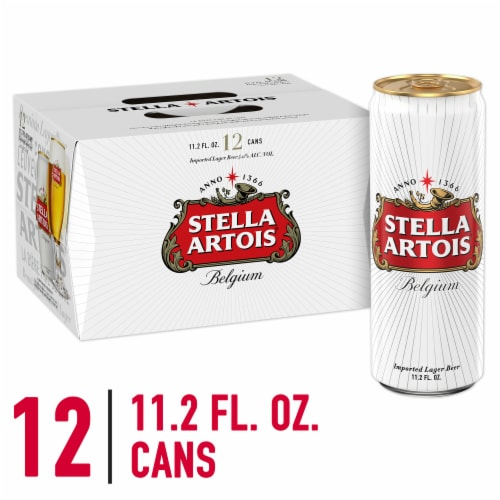 Stella Artois Lager Perspective: front