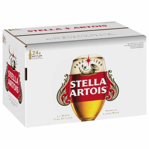 Stella Artois Premium Lager Beer Perspective: front