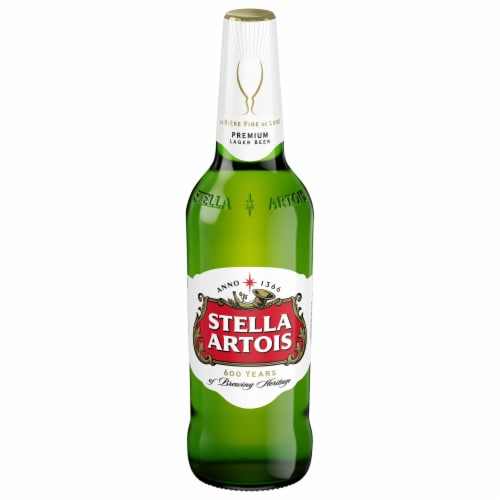 Stella Artois® Belgium Imported Lager Beer Perspective: front