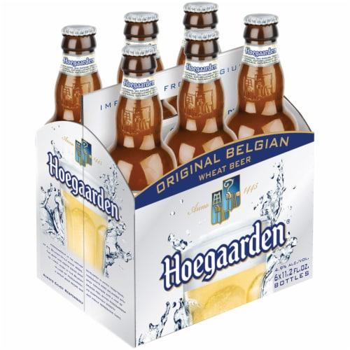 Hoegaarden The Original Belgian Wheat Beer Perspective: front