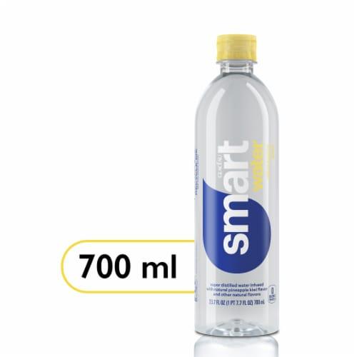 Smartwater Pineapple Kiwi Vapor Distilled Water Perspective: front