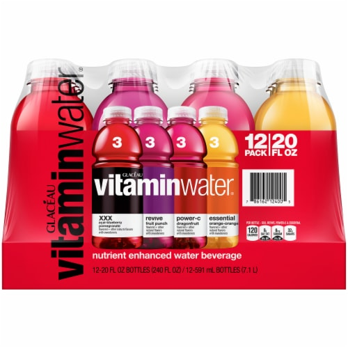 VitaminWater Variety Pack Perspective: front