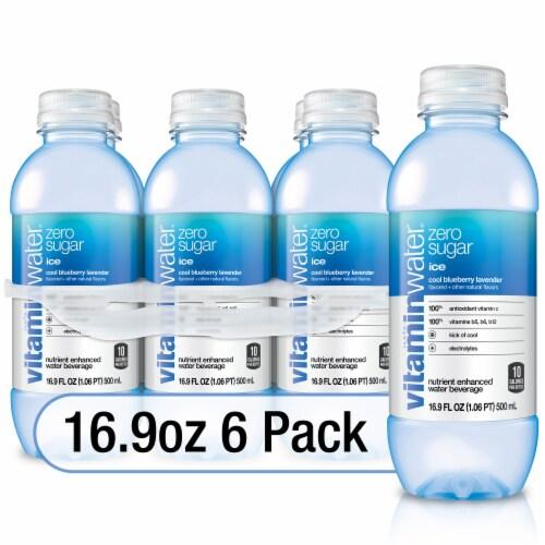 Vitaminwater Ice Zero Sugar Perspective: front
