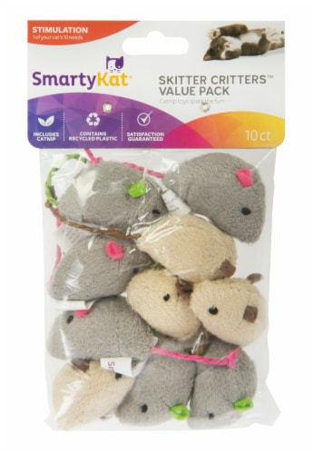 SmartyKat Skitter Critters Value Pack Perspective: front