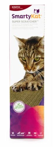 SmartyKat Super Scratcher With Catnip Perspective: front