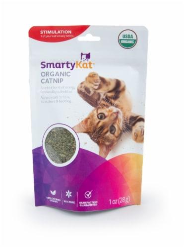 SmartyKat Organic Catnip Perspective: front