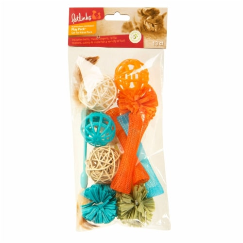 Worldwise WW49499 Petlinks Play Cat Toy Value Pack Perspective: front