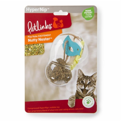 Petlinks 231946 Nutty Nester Cat Toy Perspective: front