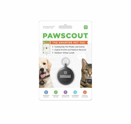 Pawscout Dog & Cat Tag Perspective: front