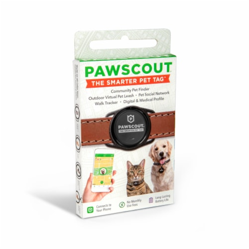 Pawscout The Smarter Pet Tag Perspective: front